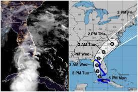 Tropical Storm Elsa Approaches Florida