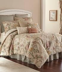 rose tree biccari vintage fl geometric reversible comforter set