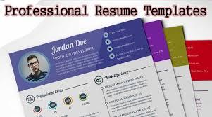 Download Curriculum Vitae Cv Resume Templates It Classes Online