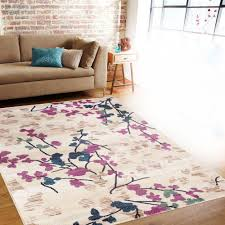 sweet pink fl area rug stunning design contemporary rugs decoration navy blue flower light fluffy dusty and orange white baby canada magnificent