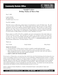 30 day vacate notice templates franklinfire co