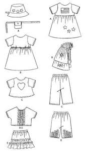Doll Clothes Patterns Awesome Free Printable 48 Inch Doll Clothes Patterns Simplicity 48