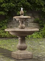 garden fountain. Simple Garden Caterina Fountain Intended Garden H