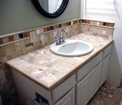 tile bathroom countertop ideas. Elegant Tile Bathroom Countertops About House Remodel Plan With Fabulous Countertop Ideas For Your Decorating T