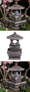 outdoor fountains water pump and rock fountain home garden outdoor patio yard decoration ornament it