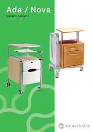 <b>Bedside Cabinet</b> Ada - Merivaara - PDF Catalogs   Technical ...
