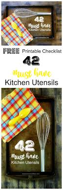 kitchen utensils list. Do You Know Someone Just Getting Their First Place? Starting Out, Fresh, Kitchen Utensils List A