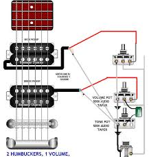 guitar wiring diagrams 2 pickup 1 volume tone wiring diagram and guitar wiring diagrams 2 pickups diagram humbucker
