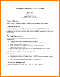 What Is A Cover Page For A Resume 100 Film Production Resume Mla Cover Page Film Actor Resume Examples 66