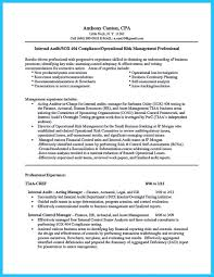 Audit Resume Examples Senior Manager Sample Hotel Night Auditor