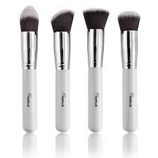 sixplus professional makeup brushes set new white handle