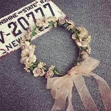 Seaside Decorative Accessories 100 Decorative Flowers Korean Bridesmaid Hair Accessories Wreath 79