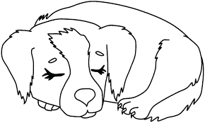 Coloring Pages Dog Coloring Pages Of A Dog Dog Printable Coloring