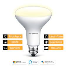 Walmart Alexa Light Bulbs Merkury Br30 Smart Light Bulb 65w Tunable White 3 Walmart B M Ymmv