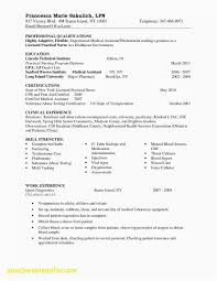 Examples Of Resume Skills New Beautiful Examples Resume Skills And