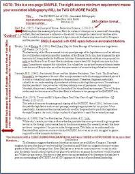 Apa Annotated Bibliography Example Free Annotated Bibliography Templates In Apa Style Swisseurasier