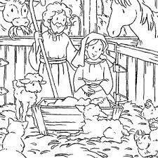 Small Picture Joseph and Mary in Jesus Christ Nativity Coloring Page Joseph and