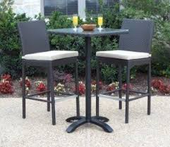 Bar Height Patio Furniture Sets  FoterThree Piece Outdoor Furniture