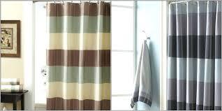brown shower curtains. Aqua And Brown Shower Curtains Stripes Curtain .
