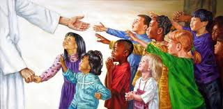 Image result for jesus and children