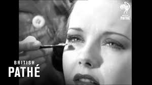 hollywood eyebrows makeup tutorial from 1938