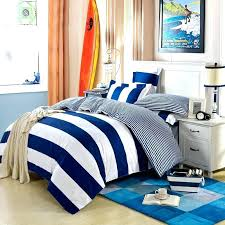navy and white striped bedding modern simple design blue stripe set queen king size bed linens gray striped bedding navy and white blue