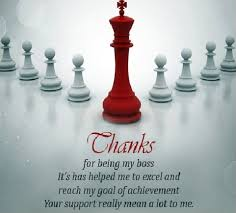 Thank You Quotes For Boss Stunning Thank You Note To Boss Appreciation Letter To Boss Manager Or Employer