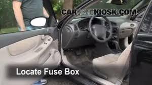 interior fuse box location 1998 2002 oldsmobile intrigue 1998 1998 2002 oldsmobile intrigue interior fuse check