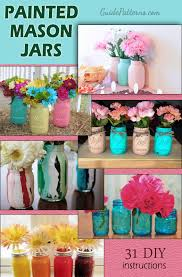 How To Decorate Canning Jars 100 Painted Mason Jars Guide Patterns 98