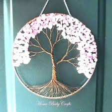 handmade wall decoration handmade wall decoration hanging ideas never miss this tree of life decor for