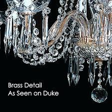 12 light crystal chandelier light crystal chandelier empress brass detail as seen on the duke chandelier 12 light crystal chandelier