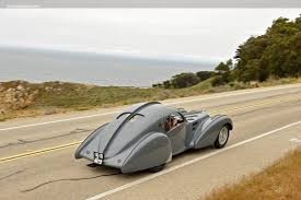 The cars were known for their design beauty and for their many race victories. 1937 Bugatti Type 57s Chassis 57473