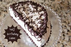 Half Birthday Cake Recipe Celebrating Sweets