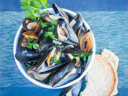 Mussels in white wine - Caroline's Cooking