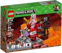 Đồ Chơi LEGO Minecraft 21139 - Alex thám hiểm Địa Ngục (LEGO Minecraft  21139 The Nether Fight)