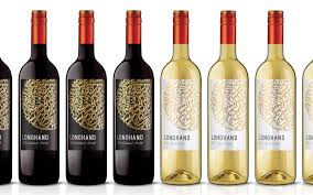 Traditional Wine Label Design Longhand Wines I Dossier Creative