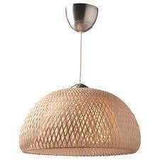 Böja Hanglamp Bamboe Rotan Tiny House Hanglamp Eetkamer Ikea