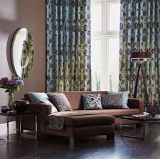 53 living rooms with curtains and ds eclectic variety pertaining to for room brown furniture designs