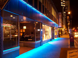 commercial led lights ledelco custom led lights and lighting in halifax blue color with simple and