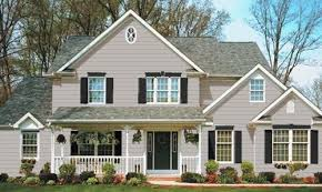 Pretty Exterior Paint Color Combinations For Homes Newest With Light Gray Siding
