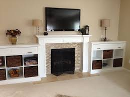 fireplace mantels with bookshelves hand crafted mantel and built in bookcases by haas distinctive