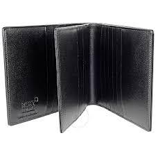 montblanc meisterstuck 24 cc large leather wallet black