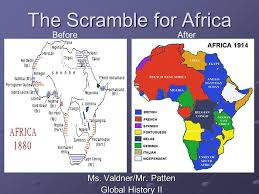 scramble for africa history essay