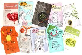 korean sheet masks premium korean facial sheet masks are now available in germany