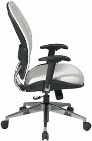 white vinyl office chair. Space Seating Contemporary White Vinyl Office Chair [33-Y22P91A8] F
