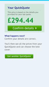 car insurance quote confused 44billionlater