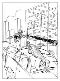 Small Picture Coloring Pages Spiderman Venom Coloring Pages Printable Printable