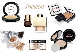 powder not only helps in getting rid of that oily shine from your face it also helps on setting and keeping your foundation on for longer