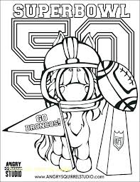 Denver Broncos Coloring Pages As Well As Broncos Football Coloring