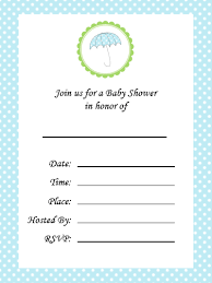 Make Your Invitation Blank Baby Shower Invitations Free Printable Baby Shower